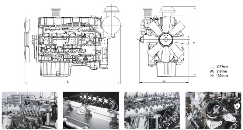 柴油机外形图