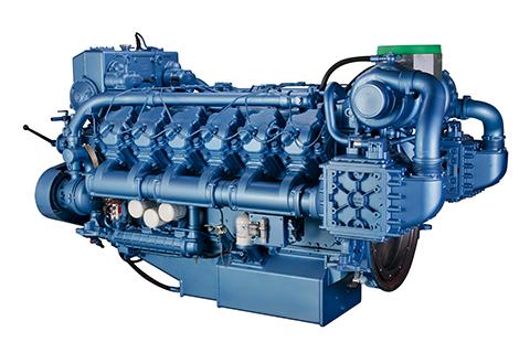 潍柴柴油发电机组12M26系列图片
