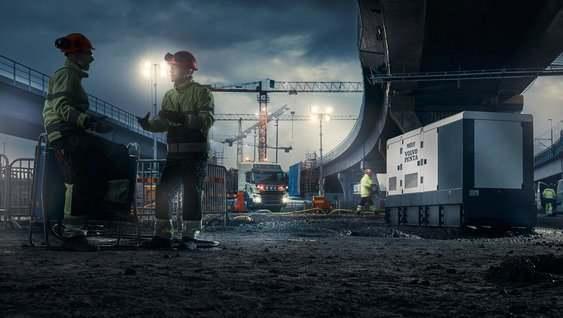 沃尔沃发电机组图片