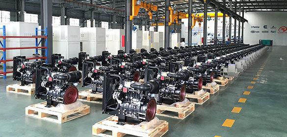 50千瓦上柴柴油发电机组图片